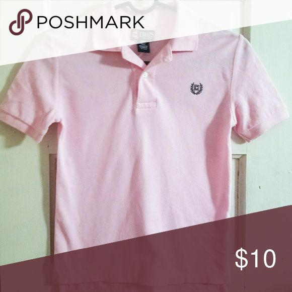 CHAPS Light Pink Polo Shirt, sz 8, EUC EUC Chaps Shirts & Tops