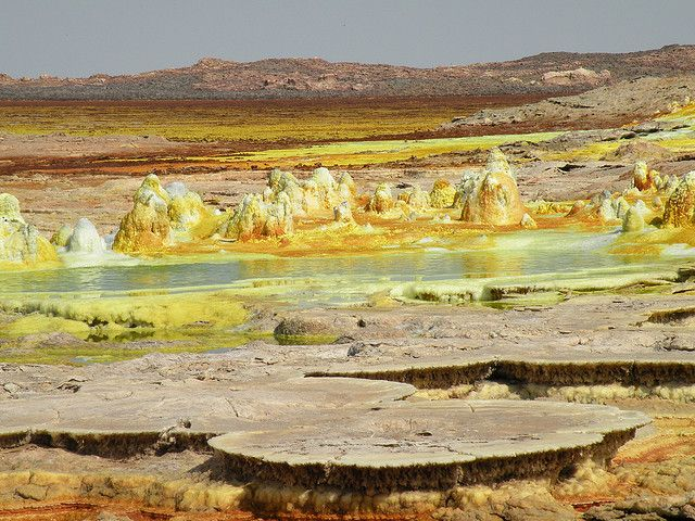 Dallol - The World's Weirdest Volcanic Crater - unbelievable pictures