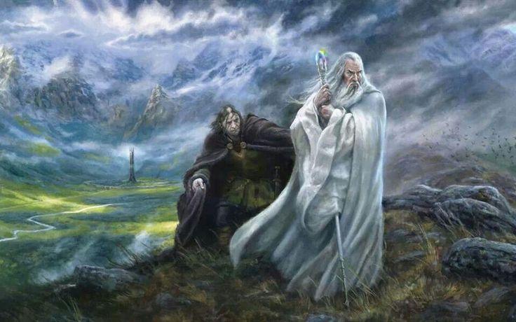 saruman and gandalf relationship