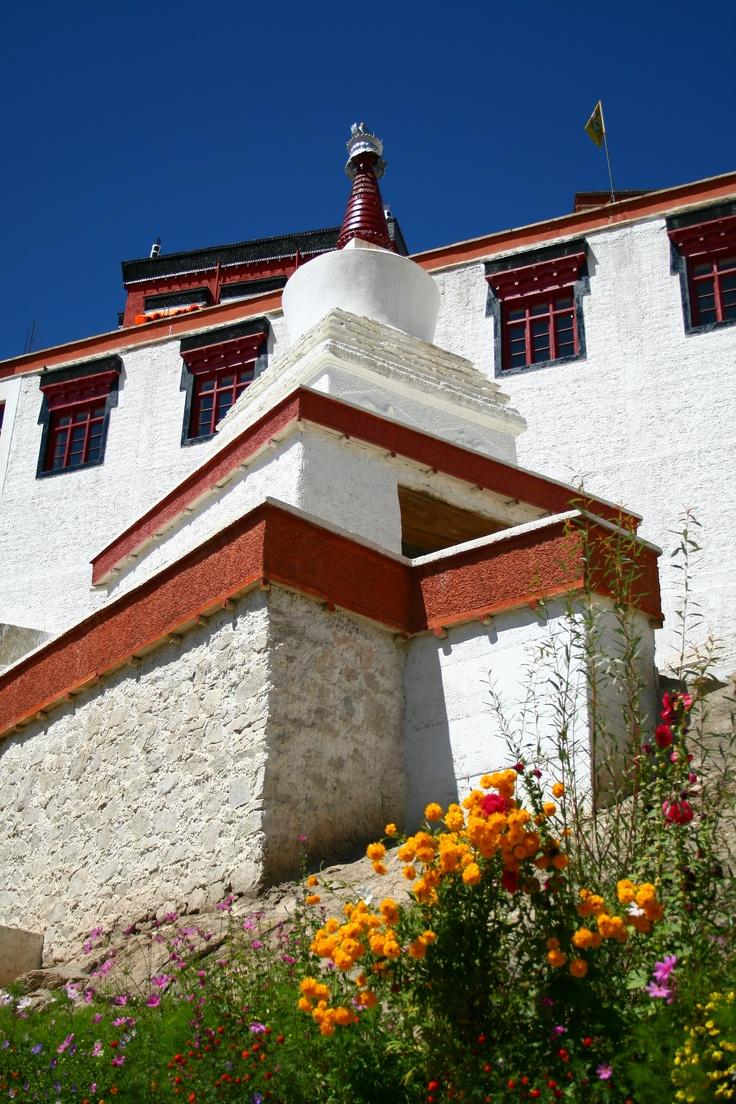 Stupa @ Thiksey Monastery