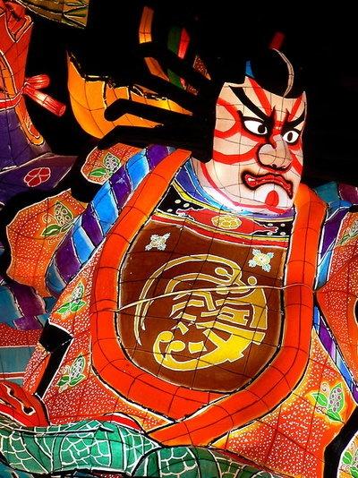 Japanese Nebuta Festival ねぶた祭り