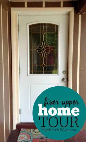 Take a peek into our new #fixerupper and see how we are updating the space on a budget.  -- from ThePeacefulMom.com