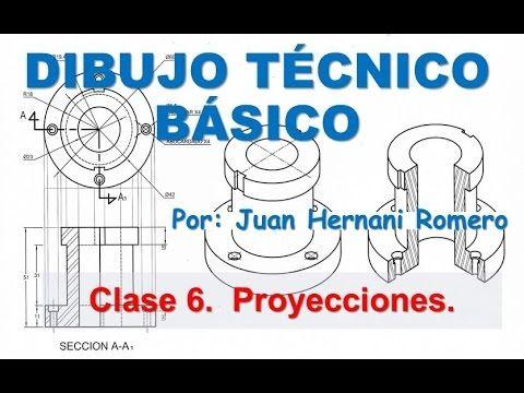 Dibujo Técnico - Clase 7 - Proyecciones Isométricas y ortogonales - YouTube