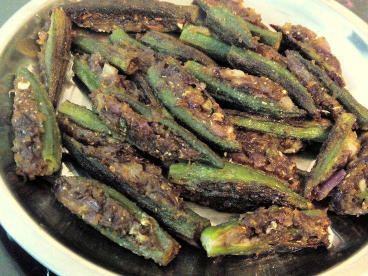 Stuffed Bhindi - Recipe by Taste INDIA