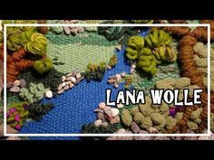 TELAR DECORATIVO PAISAJE. TAPIZ 3D. Wall hanging. Wandteppich. Lana Wolle - YouTube