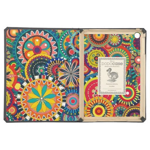 Psychedelic Pinwheels iPad Air Cases