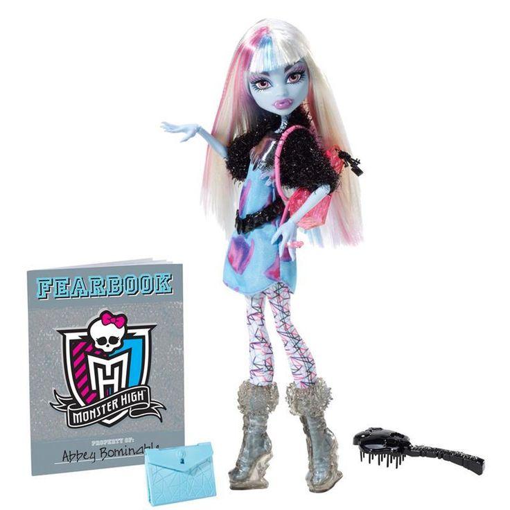 Boneca Monster High – Foto de Terror – Abbey Bominable – Mattel - http://batecabeca.com.br/boneca-monster-high-foto-de-terror-abbey-bominable-mattel-mattel.html