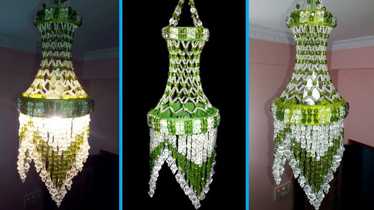 Beaded Jhumar / Crystal Chandelier / Beaded Windchime | Wall Hanging Dec...