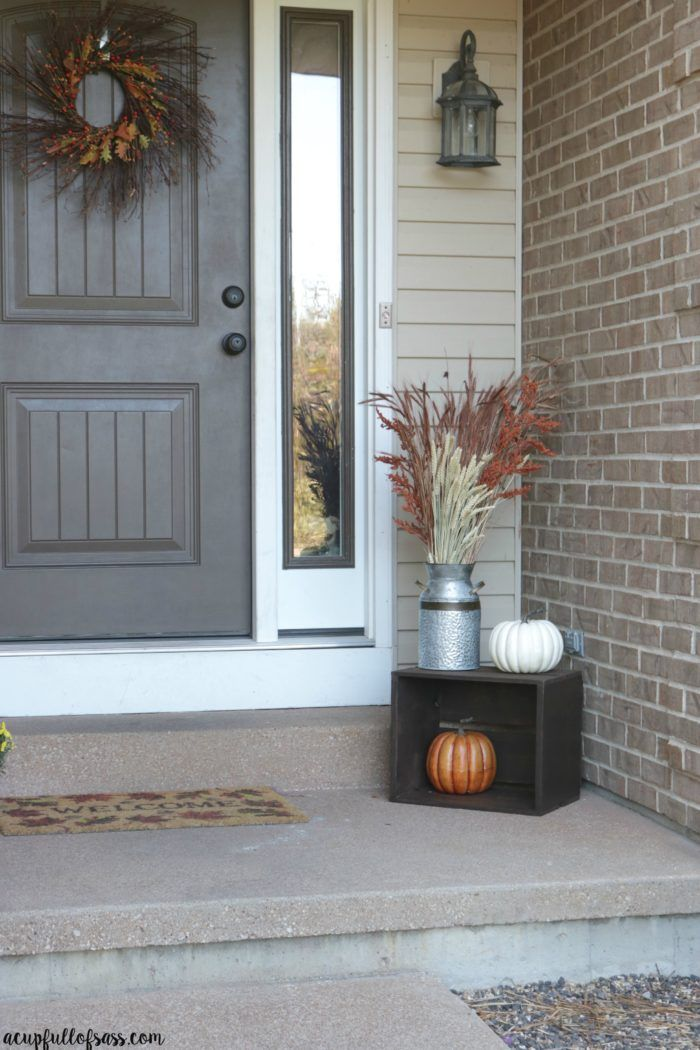 Best 25 Fall Porch Decorations Ideas On Pinterest Front
