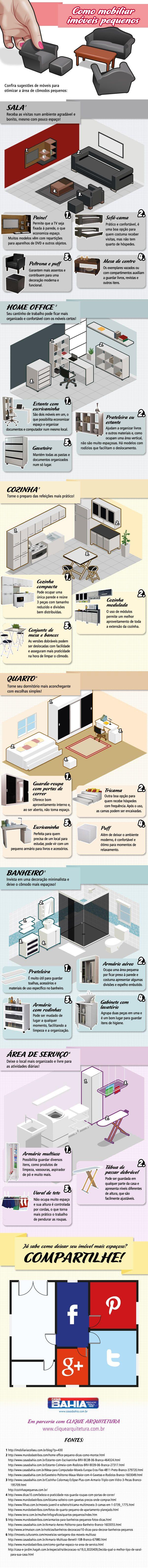Dicas muito boas de como mobiliar a sua casa!