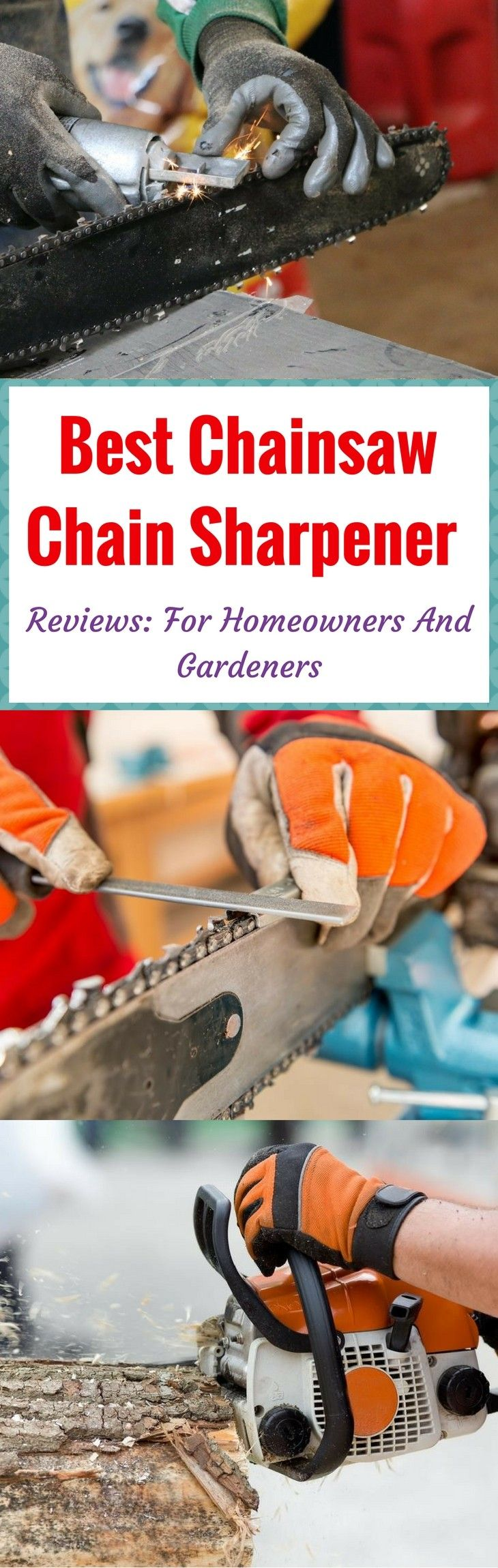 Does your chainsaw bounce when you cut large woods? In this article, learn the best chainsaw chain sharpener that would end the bluntness of your chainsaw. Read more at: https://gardenambition.com/best-chainsaw-chain-sharpener/