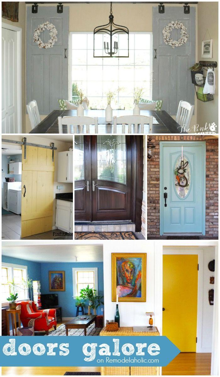 DIY Doors + Tutorials + Inspiration @Remodelaholic