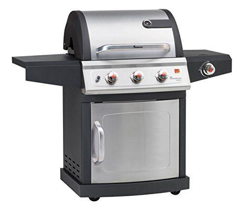 Landmann Miton 3 Burner Gas Barbecue with Side Burner