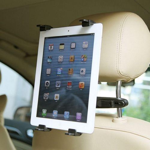 6.88€ - NEU-360-Universal-Tablet-PC-Auto-KFZ-PKW-LKW-Kopfstuetzen-Halterung-Sitz-Halter