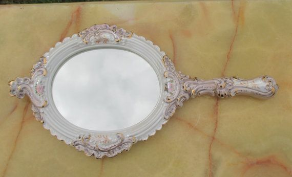 Hey, I found this really awesome Etsy listing at https://www.etsy.com/listing/248069549/vintage-italian-bassano-hand-mirror