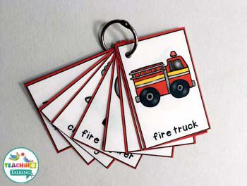 Fire Safety: Interactive Speech Therapy Activities by teachingtalking.com
