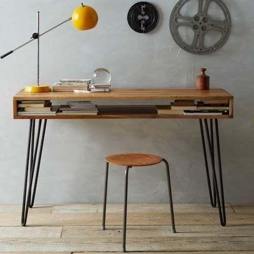 Las 25 mejores ideas sobre bancos para mesas de comedor - Mesa de hierro ...