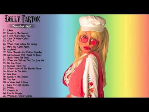 DOLLY PARTON Greatest Hits Collection - The Very Best Of Dolly Parton - Playlist 2016 - YouTube