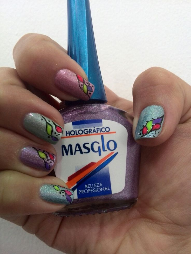 #HolographicNails #Holographic #Inspiraton #MASGLOlovers