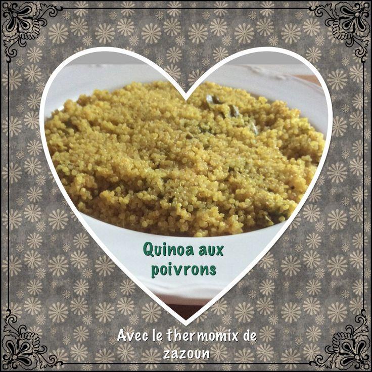 Aujourd'hui je vous propose une recette rapide et facile au thermomix. Il est possible de faire cette recette en faisant cuire le quinoa dans une casserole et en faisant revenir l...
