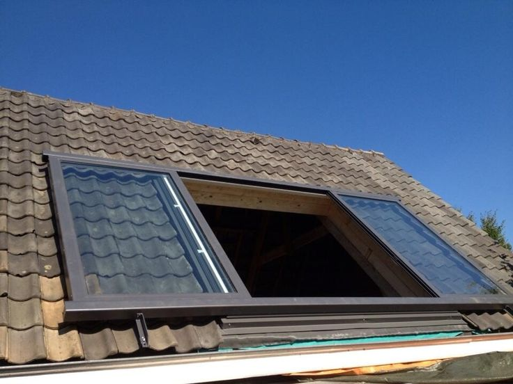 Een inpandige dakkapel of toch maar een schuifdakraam een goedkopere en betere oplossing meer - Veranda met dakraam ...