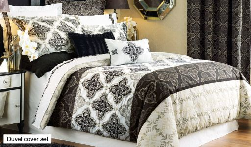 Alaina Duvet Cover & Comforter Sets Bedding HomeChoice