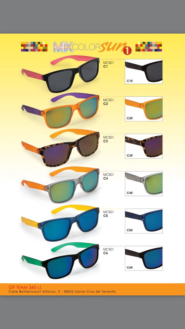 Mix color Sun reading glasses