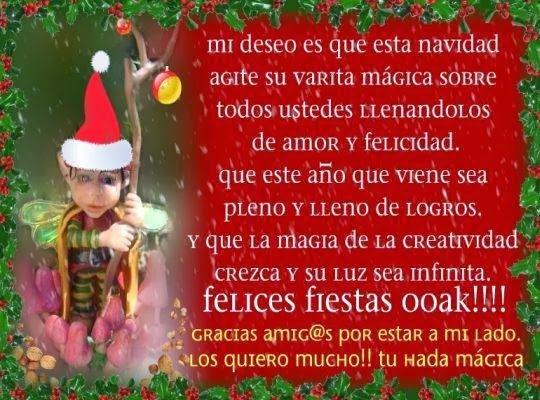 12 best feliz navidad saludos y mensajes images on - Saludos de navidad ...