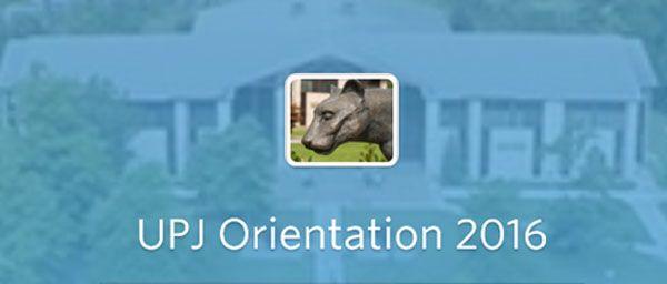 Download the 2016 Orientation App https://guidebook.com/g/pitt-johnstown/