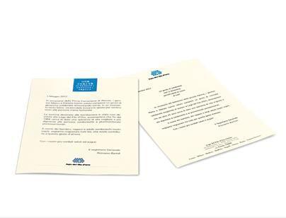 Stampata su carta pregiata, la lettera, firmata dal Segretario Generale della Lega del Filo d'Oro, testimonia ad amici e parenti la vostra scelta. Disponibile in due differenti grafiche.