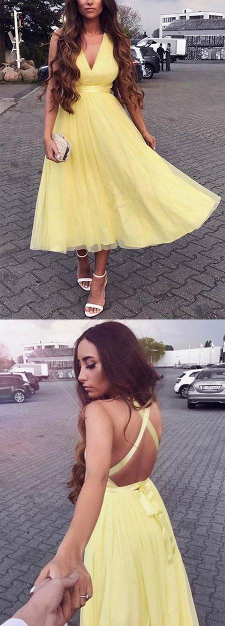 homecoming dress,homecoming dresses,yellow homecoming dress