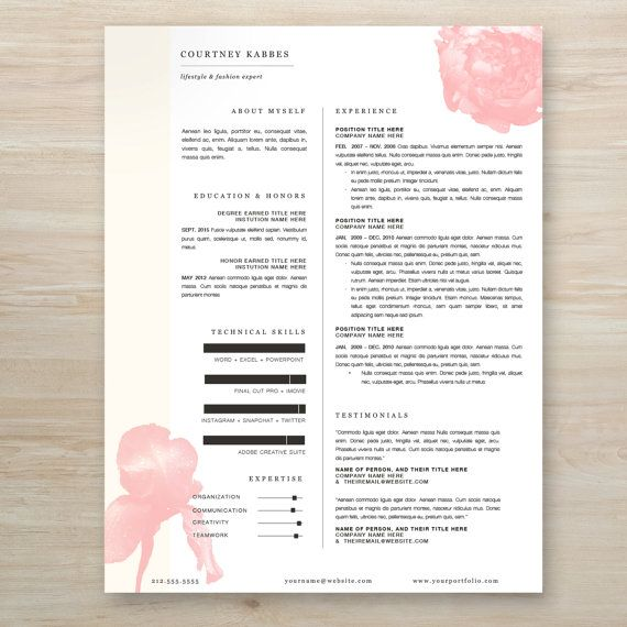 35 best images about resumes  on pinterest