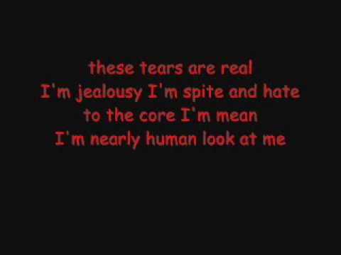 This song is so moving.  ▶ Voltaire - Almost Human (Lyrics) - YouTube (Will)