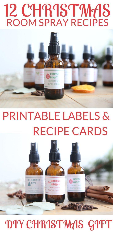 12 christmas room sprays with essential oils eo s pinterest rh pinterest com