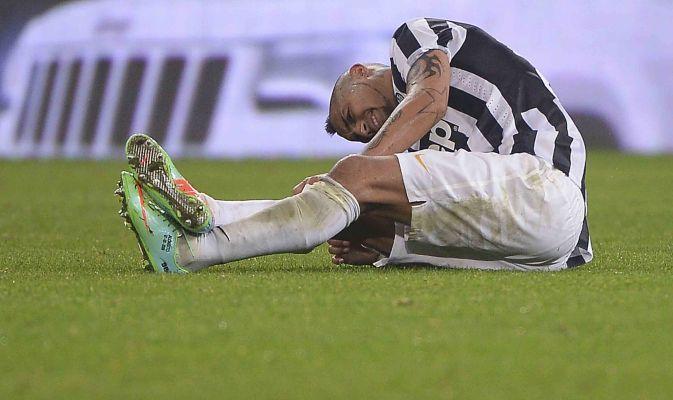 Juventus, Vidal infortunato: salta l'Udinese, Milan a rischio - http://www.maidirecalcio.com/2015/01/29/juventus-vidal-infortunato-salta-ludinese-milan-rischio.html