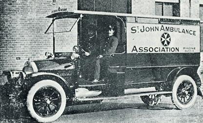 St John in Australia - 1911. How the world has changed!