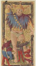 Référence bibliographique : Tarot, jeu et magie, 7, Référence bibliographique : Dessins de la Renaissance, 35, and Appartient à l'ensemble documentaire : JeuCart