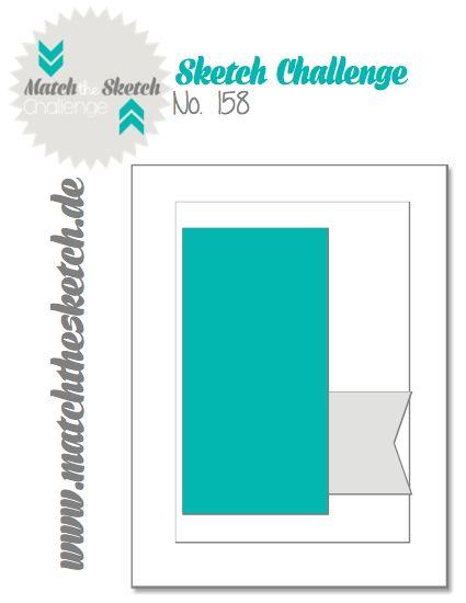 Willkommen zu Sketch Nr. 158 bei Match the Sketch! Ihr habt bis Dienstag, 20 Uhr (MEZ) Zeit um an der Challenge teilzunehmen. Welcome ...
