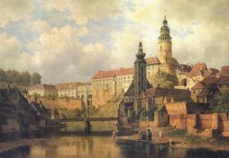 Český Krumlov, B.Havránek, 2.polovina 19.století