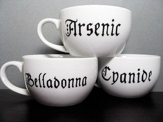 Poison Mugs.