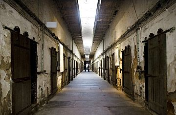 Eastern State Penitentiary, Philadelphia, Pennsylvania  http://www.time.com/time/specials/packages/article/0,28804,1855221_1855285_1855272,00.html#