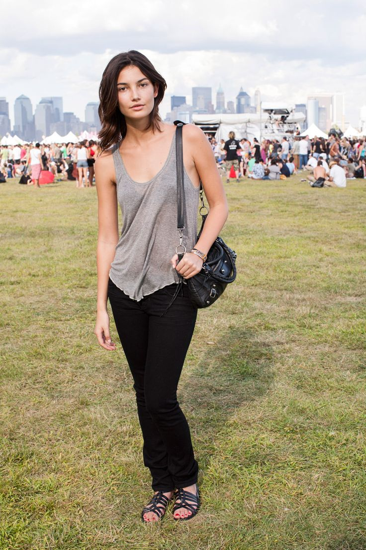 As the wife of Kings of Leon frontman Caleb Followill, Lily Aldridge is especially familiar with the diverse landscape of summer music festivals.