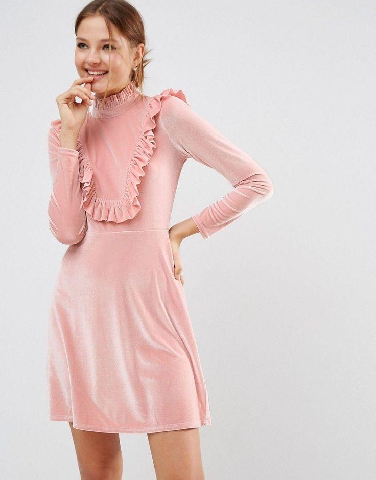 asos cutie pie velvet dress at asos com adrette kleider