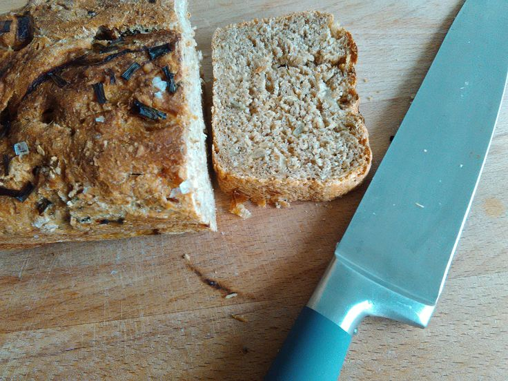 Bread with caramelized onion