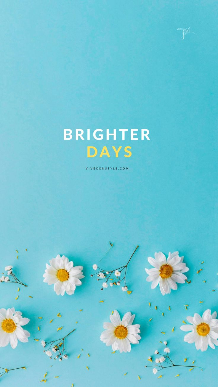 Brighter days spring mobile wallpaper