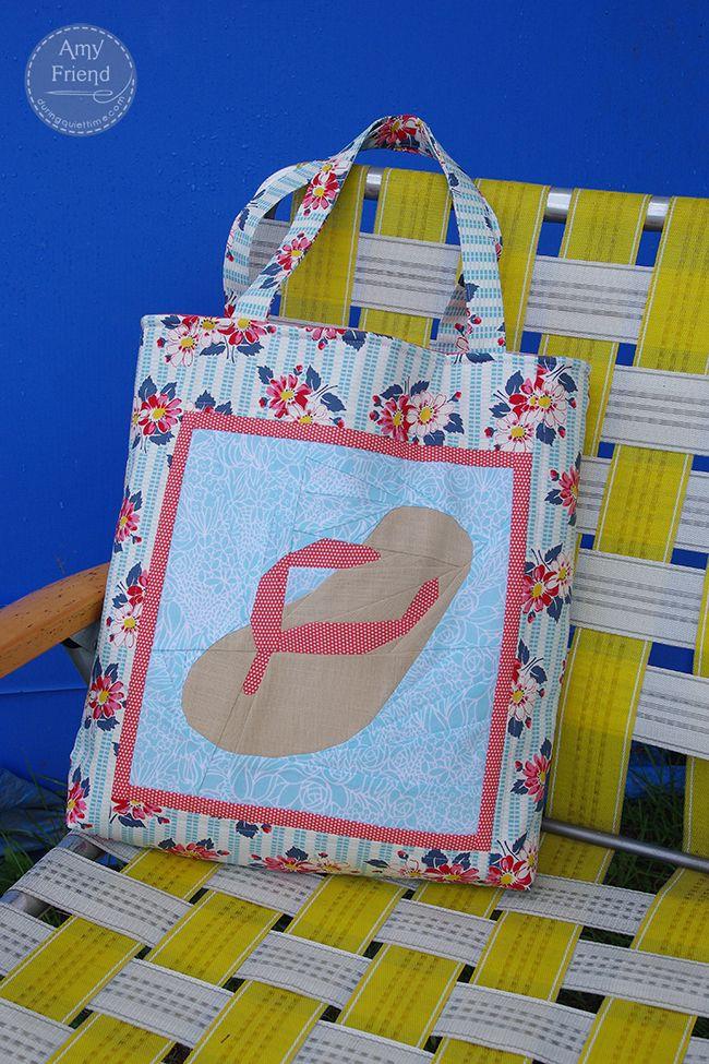Flip Flop Beachbag Tutorial