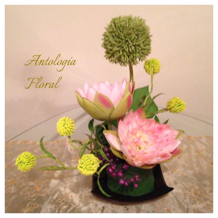 Arreglo de flores artificiales colores pastel flores - Arreglos de flores artificiales ...