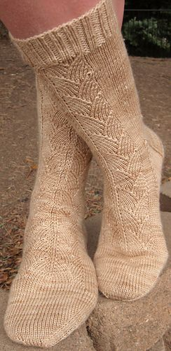 My Cup of Tea socks by Robin Lynn - free pattern