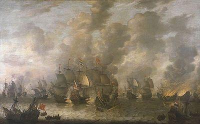 Articolo sulla prima guerra Anglo - Olandese, comprendente cause, sviluppo e conclusione
