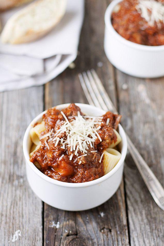 Leftover Pot Roast Turned Ragù #recipe #dinner #pasta